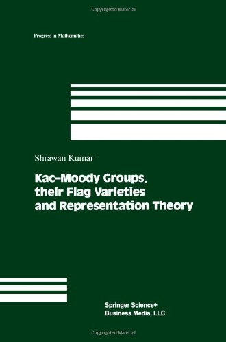 Kac-Moody Groups, Their Flag Varieties And Representation Theory (Progress In Mathematics)