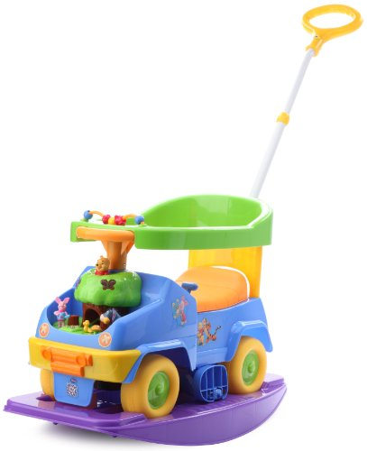Kiddieland Toys Limited 4 in 1 Rock n' Ride Activity Ride On