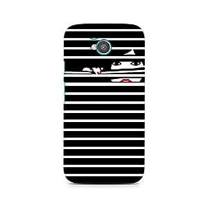 Ebby Peekaboo Premium Printed Case For Moto E2