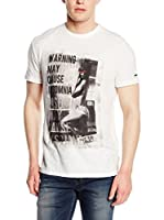 Pepe Jeans London Camiseta Manga Corta Stephan (Blanco)