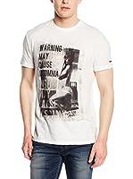 Pepe Jeans London Camiseta Manga Corta Stephan (Blanco)
