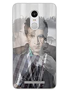 RedMi Note 3 Back Cover - I Love Ranbir Kapoor - For Ranbir Kapoor Fans - Designer Printed Hard Shell Case