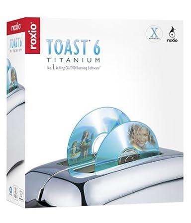 Toast 6 Titanium