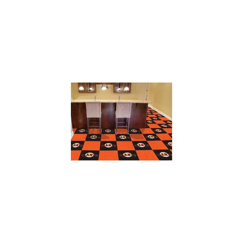 San Francisco Giants 20 Pk Area/Sports/Game Room Carpet/Rug Tiles