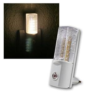 ETT Nachtlicht mit Tag/Nacht-Sensor,5 LED´s, warmweiß