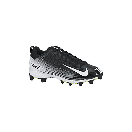 Boy's Nike Vapor Keystone 2 Low (GS) Baseball Cleat Black/White Size 1.5 M US (Youth Vapor Keystone 2 compare prices)