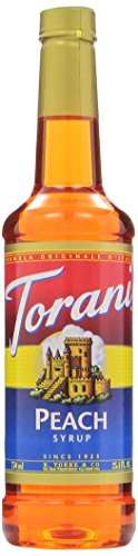 Torani Syrup, Peach, 25.4 Ounce (Pack Of 4)