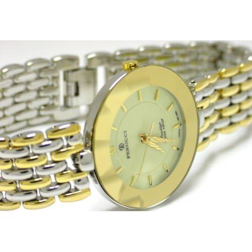 Amazon.com: Perucci Milano Cartier Style Prestige Watch with diamond