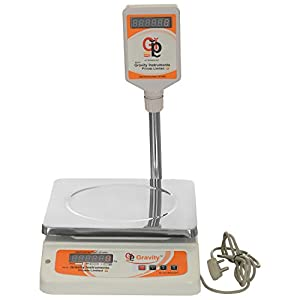 """Gravity Electronic Weighing Machine   13.5""""x17.5""""x5.5"""", 40 kg available at Amazon for Rs.4800"""