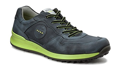 ECCO Mens Golf Speed Hybrid Black Golf Shoes