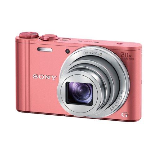 SONY デジタルカメラ Cyber-shot WX350 光学20倍 ピンク DSC-WX350-P