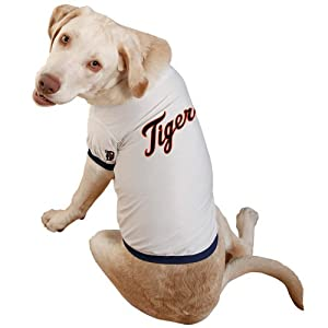 Sporty K9 Detroit Tigers Baseball Dog Jersey Extra Large from Sporty K9, Ltd.
