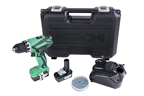 Hitachi DS10DFL2 12V Peak Li-Ion Cordless Driver Drill with 2 Batteries and Quick Charger (12v Cordless Drill compare prices)