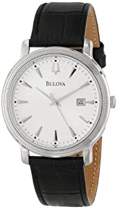 Bulova Men's 96B120 Silver Dial Strap Watch