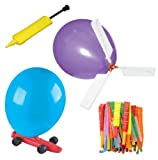 Toysmith Balloon Powered Vehicle Set