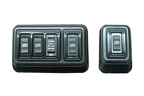 Megatronix wks41 2 door illuminated universal power for 2 door power window switch kit