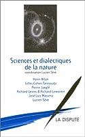 Sciences et dialectiques de la nature