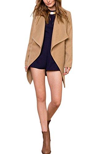 womens-camel-casual-woolen-jacket-trench-turn-down-collar-outwear-blazer-coat