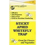 Hydrofarm HGSLWFT Sticky Fly Trap, 5 Count, White