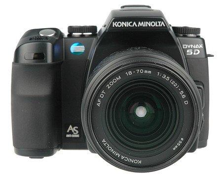 Konica-Minolta Dynax 5D DSLR + AF DT 18-70mm f/3.5-5.6 Lens