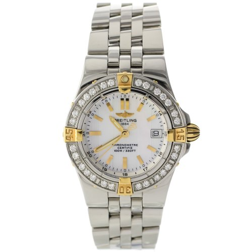 Breitling Windrider Starliner B7134053/A601 Original Pearl Diamond Ladies Watch