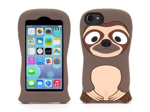 Griffin Sloth KaZoo Protective Animal Case for iPod touch (5th/ 6th gen.) - Fun animal friends for iPod touch (5th gen) (Ipod For Kids compare prices)
