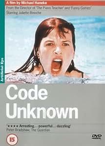 Code Unknown [2001] [DVD]