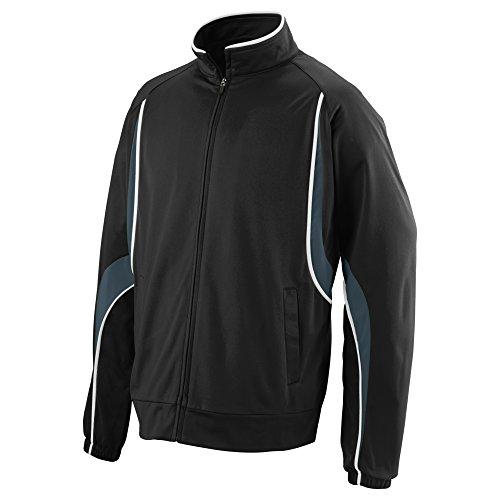 Boys' Rival Jacket Augusta Sportswear S Black/Slate/White