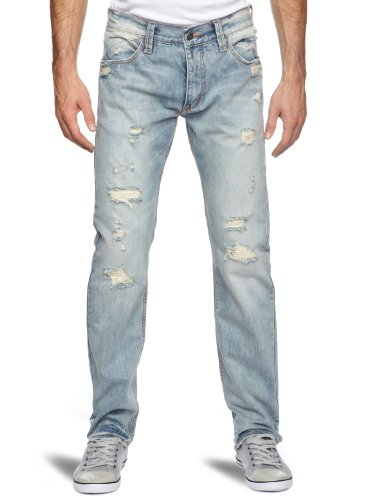 Rip Curl Straight 3 Straight Men's Jeans Stranded Wash W36 IN x L32 IN