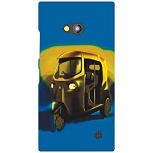 Back Cover For Nokia Lumia 730 (Printed Designer)