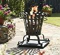 Garden Fire Basket Patio Heater Burner Incinerater by LA HACIENDA