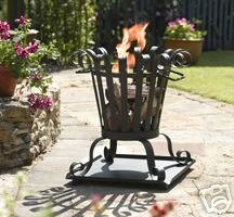 GARDEN FIRE BASKET PATIO HEATER BURNER INCINERATER