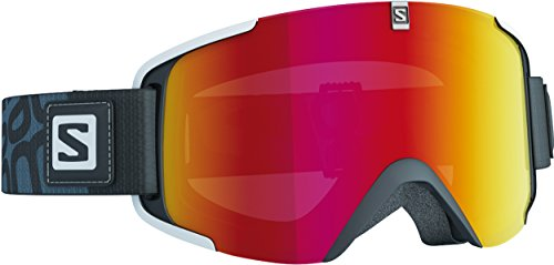 Salomon Xview - Gafas de esquí unisex, color negro, talla única