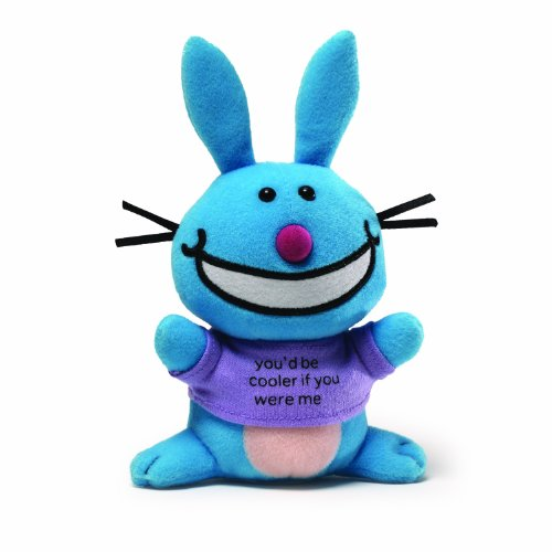 It's Happy Bunny Beanbag - You'd Be Cooler If You Were Me - 1