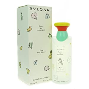 Bvlgari Petits Et Mamans By Bvlgari For Women, Alcohol Free Scented Water Splash 3.4 Oz