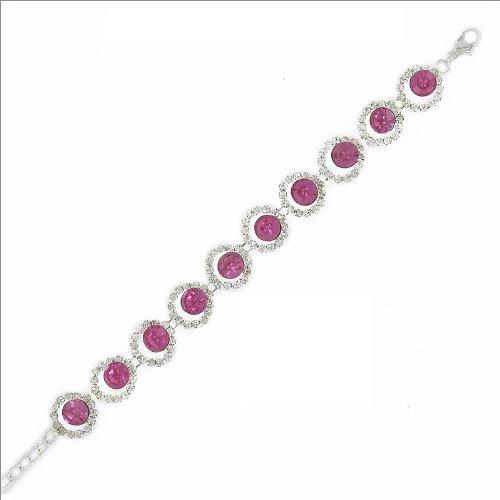 JOA Trendy Rhinestone Bracelet #031975