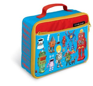 Crocodile Creek Kids Classic Lunchbox (Robots)
