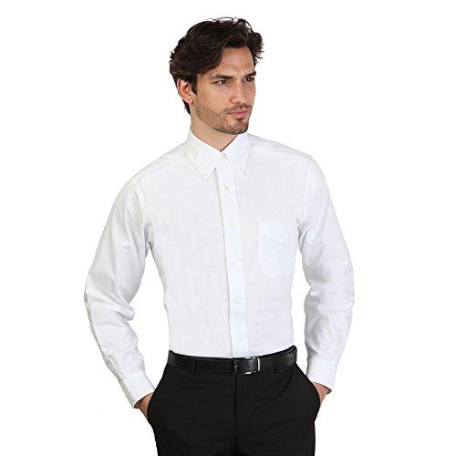 Camicia Brooks Brothers 100011294 bianco slim - uomo - 42