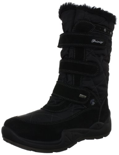 Primigi WIT-E Boots Girls Black Schwarz (NERO/NERO) Size: 8 (25 EU)