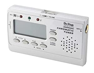 On Stage GTA7600 Chromatic Guitar Or Bass Tuner Guitar Tuner