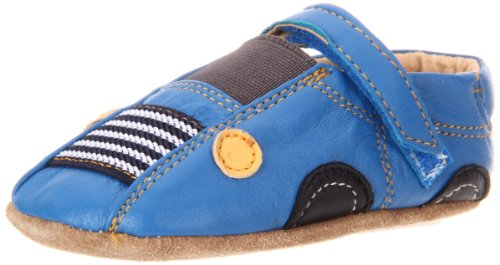 Livie & Luca Baby Auto Slip-On (Infant/Toddler),Bright Blue,0-6 Months (2 M Us Infant) front-633640