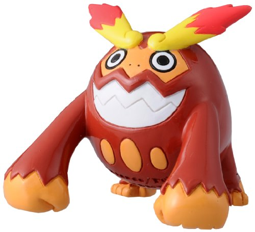 Takaratomy Pokemon Black and White Monster Collection Figure - M-030 - Hihidaruma/Darmanitan