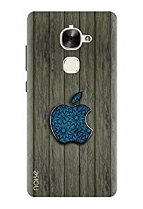 Noise Designer Printed Case / Cover for LeEco Le 2 / Patterns & Ethnic / Blue Wooden Apple