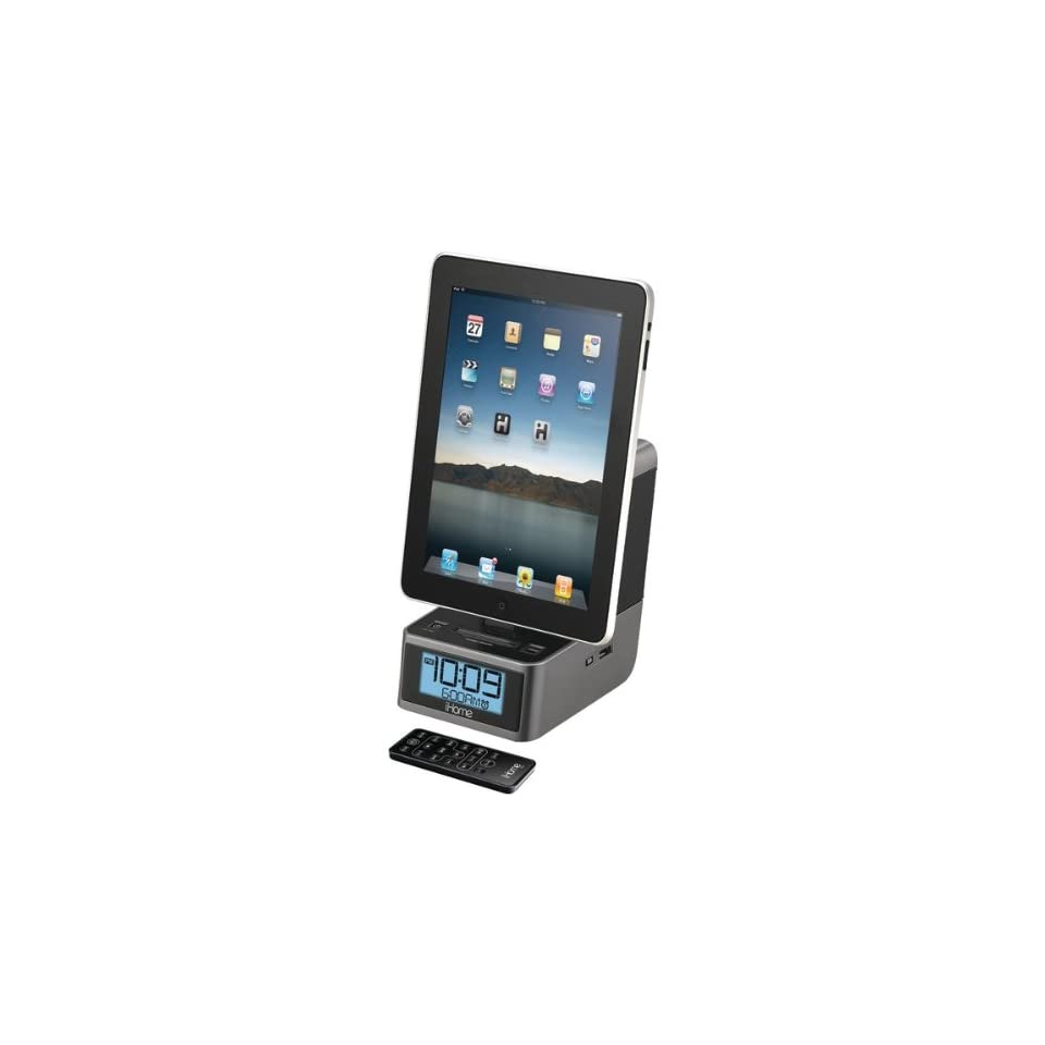 IPAD(R)/IPOD(R)/IPHONE(R) DUAL ALARM STEREO CLOCK RADIO Electronics