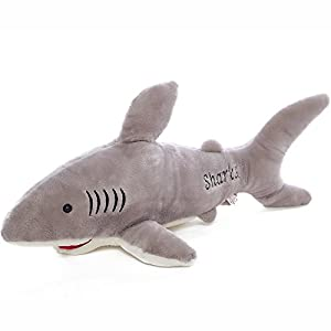 100cm Cute Shark Plush Toy Soft Stuffed Animal