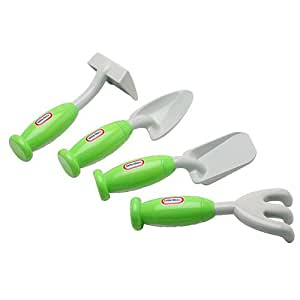 Little tikes garden hand tool set 2 piece for Gardening tools on amazon