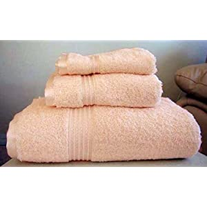 MARRIKAS Egyptian Cotton 6 Piece Towel Set PEACH at Sears.com