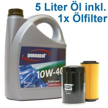 5 Liter Pennasol 10W-40 Super Light Motoröl