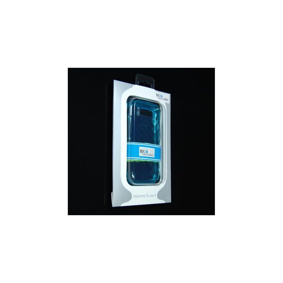 IVEA BLUE Diamond Transparent Soft Crystal Silicone case for Nokia E71