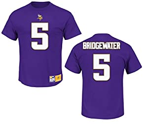 Minnesota Vikings Teddy Bridgewater Eligible Receiver II Name and Number T-Shirt by VF